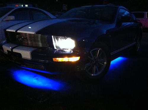 Aaron Walton's 2005 Ford Mustang