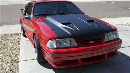 adolfo aguilar's 1989 ford  mustang