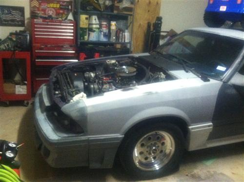 AJ McGee's 1990 Ford Mustang
