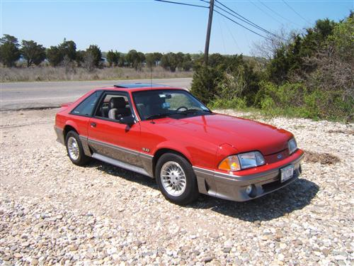 Alex Catti's 1989 Ford Mustang GT