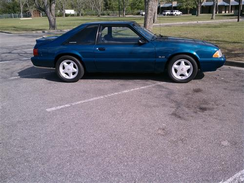 Angelique Lewis' 1993 Ford Mustang LX 5.0
