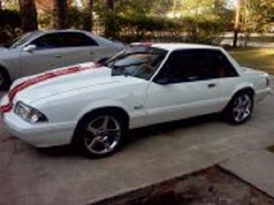 Anthony McDaniel's 1989 Ford Mustang Coupe
