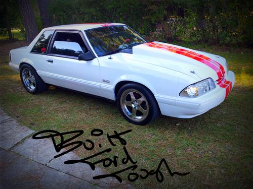 Anthony McDaniel's 1989 Ford Mustang