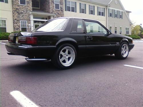 anthony ruggiero's 1988 ford mustang notchback