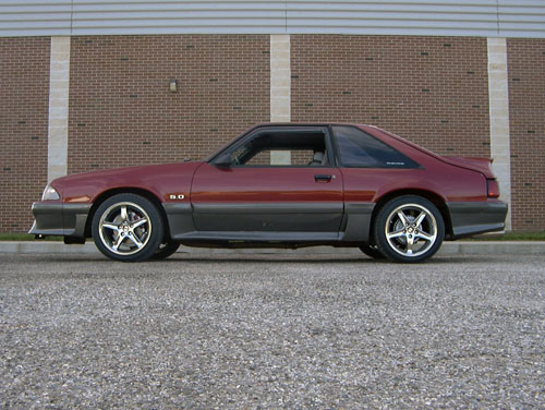 Brandon Pundt's 1991 Ford Mustang GT