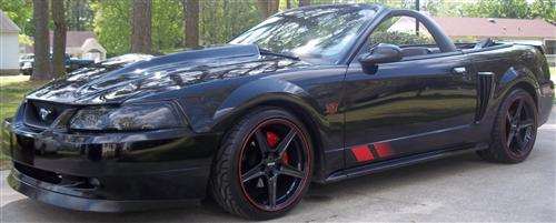 Bill Wiebe's 2003 Ford Mustang GT Convertible