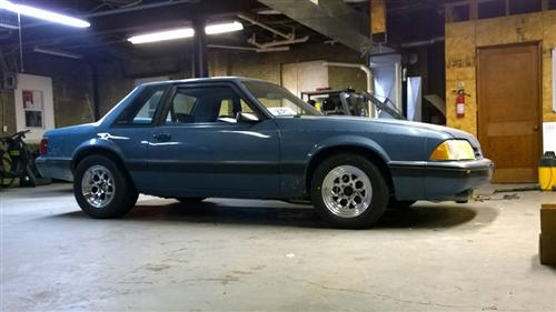 Bj English's 1989 Ford Mustang