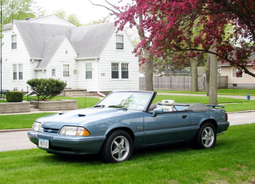Bob Wrede's 1991 Ford Mustang LX