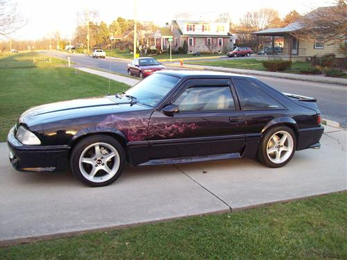 chad  evans' 1990 Ford Mustang Gt