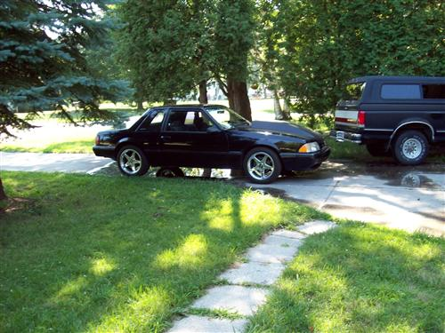 chares mills' 1993 mustang lx