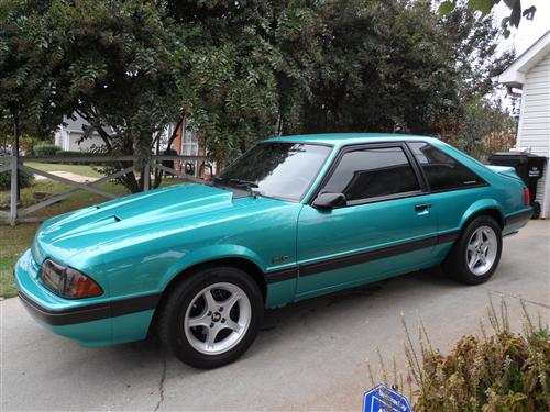 Charles  Henley's 1991 Ford Mustang