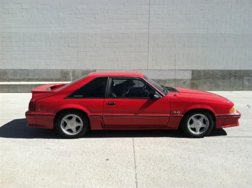 Chris  Bruehl's 1990 Ford  Mustang GT Hatchback
