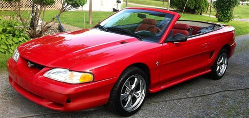 Chris  Guntrum's 1995 Ford V-6 Convertible