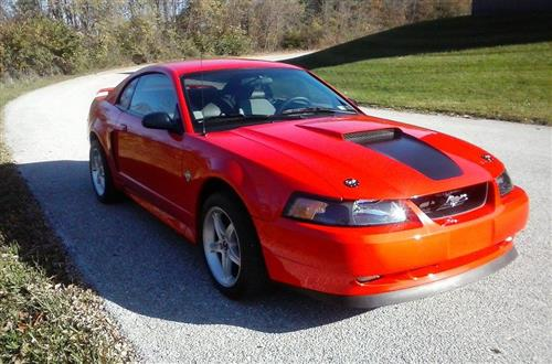 clae myers' 1999 ford  mustang 35th anniversery gt