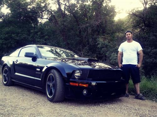 clay breshears' 2007 ford SHELBY GT