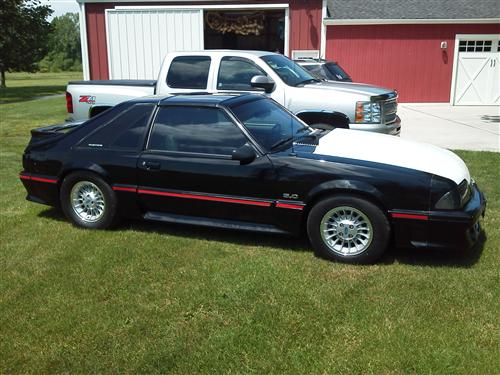 Corey Harmon's 1987 Ford Mustang GT T-Top