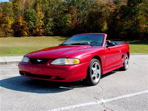 Craig Aurin's 1998 Ford Mustang