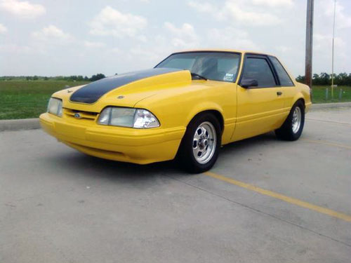 Daniel Kubena's 1990 Ford Mustang Coupe