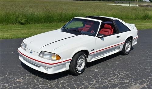 Dallas  Colley's 1987 Ford Mustang GT