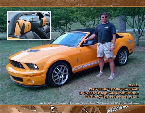 Danny  Bowman's 2007 Ford Shelby GT 500 convert