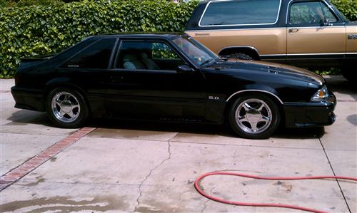 Dave Velasquez's 1989 Ford Mustang GT