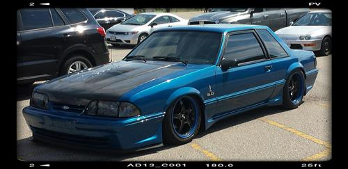 Deep Bhamber's 1988 Ford Mustang