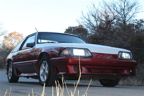 dustin hamilton's 1989 ford  mustang GT