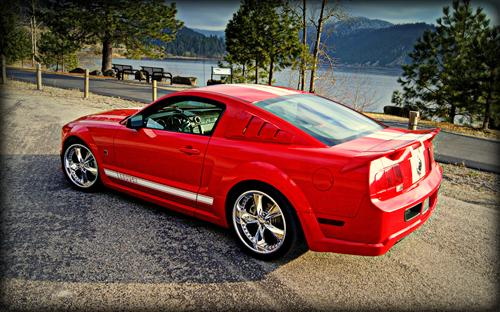 Edward Greybeck's 2005 Ford/Roush Mustang Stage 2+