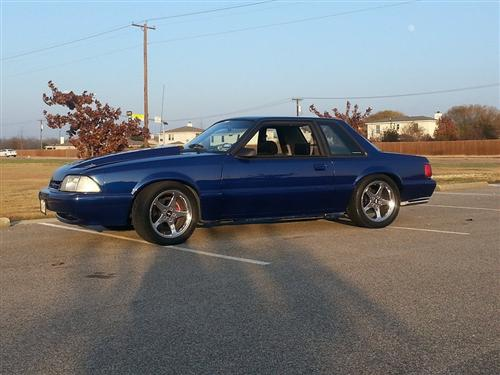 Eric  Griggs' 1990 Mustang  LX 5.0 COUPE