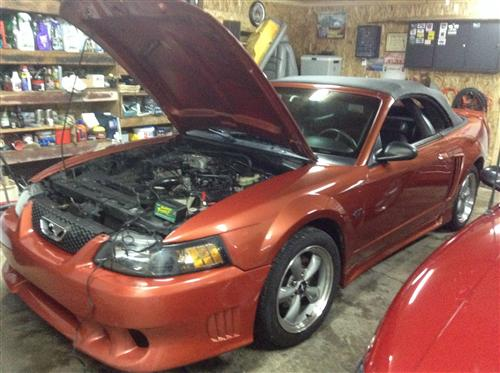 Eric Cormier's 2001 Ford Mustang gt converteble