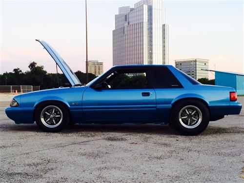 Eugene Manaloto's 1990 Ford  Mustang lx coupe