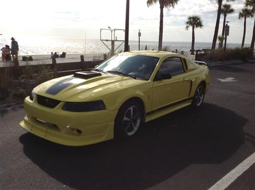 FLUFF MORALES's 2003 FORD MUSTANG MACH 1