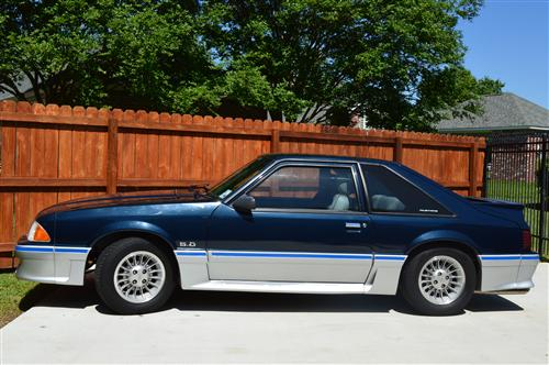 Freddie  Griffin's 1988 Mustang GT 5.0 (with SSP package)
