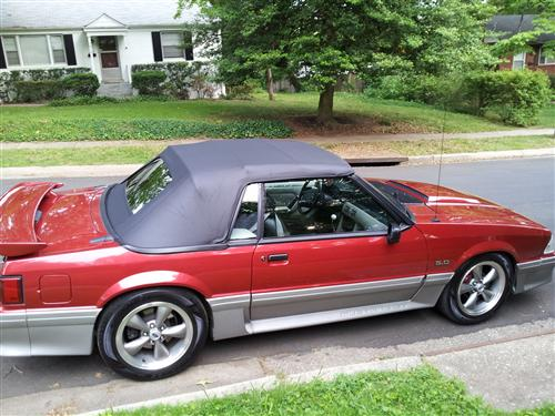 Gary Paul's 1992 Ford Mustang