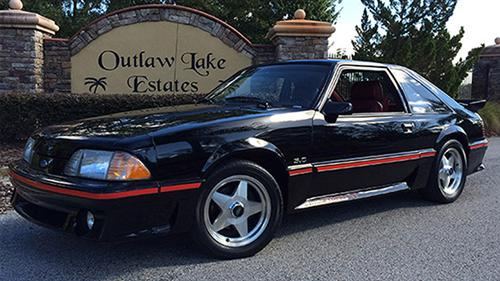 George Blanc's 1987 Ford Mustang GT