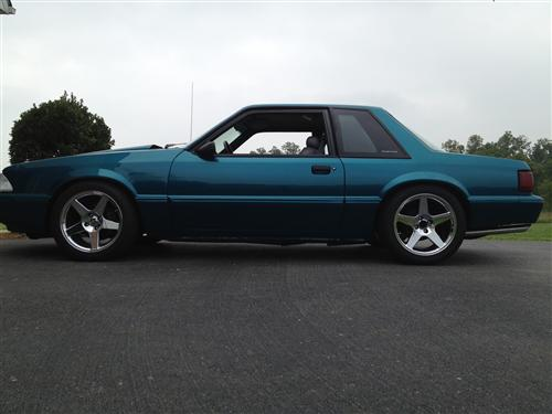 Greg Linhardt's 1993 Ford Mustang