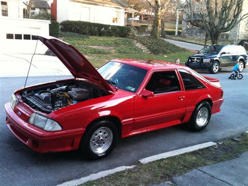 Greg Weatherwalk's 1991 Ford Mustang GT