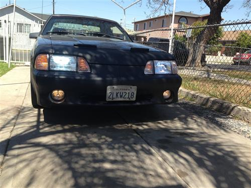 Guillermo  Sosa's 1989 Ford Mustang
