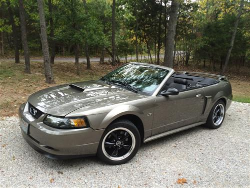 Guy Hollowood's 2002 Ford Mustang GT 'Vert