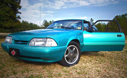 Harris  Lue's 1993 Ford Mustang LX