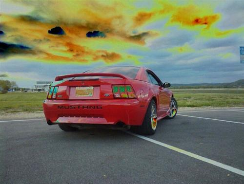 Ian Richards' 1999 Ford Mustang SVT Cobra