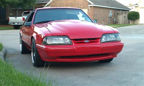 Jaime Cervantes' 1991 Ford Mustang LX
