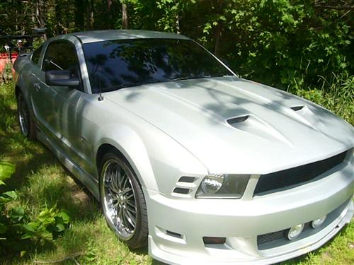 James  Fouts' 2009  Ford Mustang