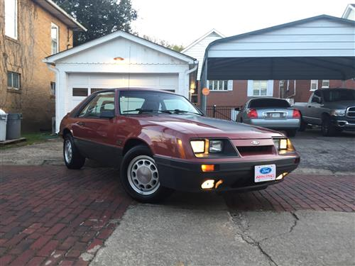 James Hart's 1986 Ford Mustang GT