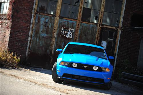 james armstrong's 2011 ford mustang
