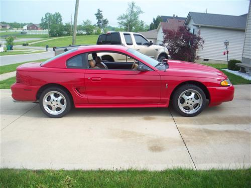 James Sanford's 1995 Mustang Cobra SVT