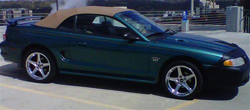 James Warford's 1997 Ford Mustang GT Convertiable
