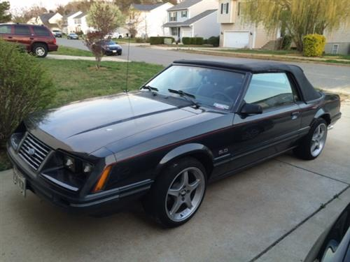 Jason Everhart's 1984 Ford Mustang