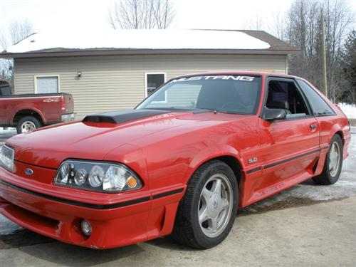 jason ruelle's 1993 ford mustang gt