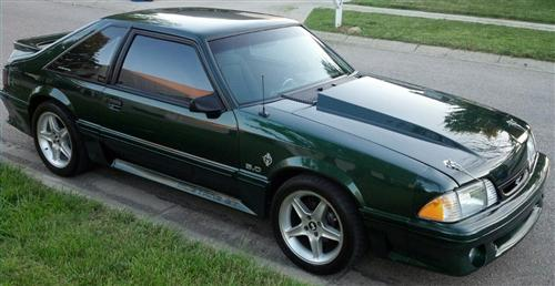 Jason Shafer's 1992 Ford Mustang GT